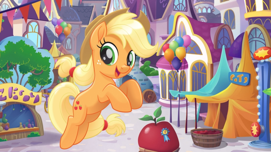My Little Pony The Movie wallpaper Applejack