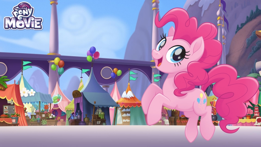 My Little Pony The Movie wallpaper Pinkie Pie