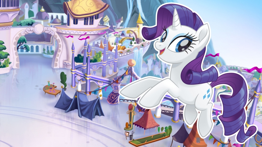 My Little Pony The Movie wallpaper Rarity
