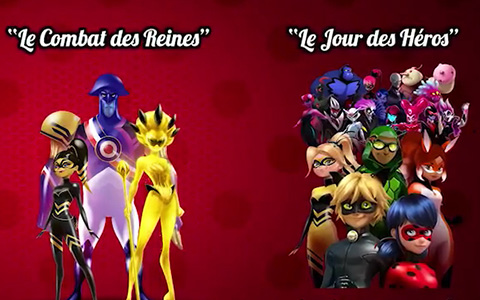Miraculous Ladybug Season 2017: 2 new specials - Hour of heroes and Battle of the Queens