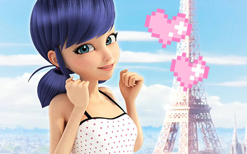 Miraculous Ladybug: New official images of Marinette and Adrian