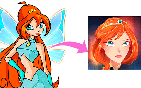 Grown-up Winx and Specialists