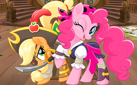 My Little Pony The Movie wallpapers with pirates ponies