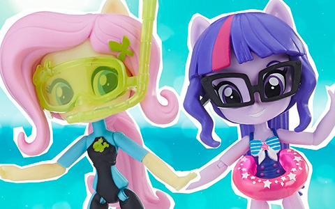 New My Little Pony Equestria Girls Minis Beach Style