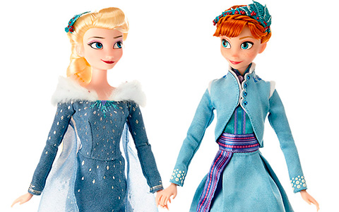 First look at Anna and Elsa Doll Set from Olaf's Frozen Adventure