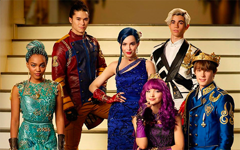 Disney Descendants 2 in Cotillion costumes