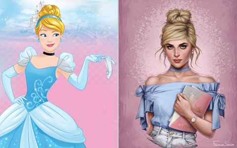 7 modern Disney Princess from 2017
