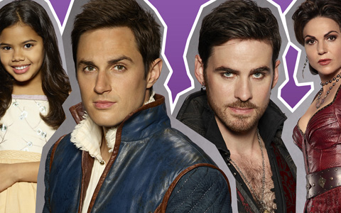 Once Upon a Time season 7 big HD promo photos of main characters