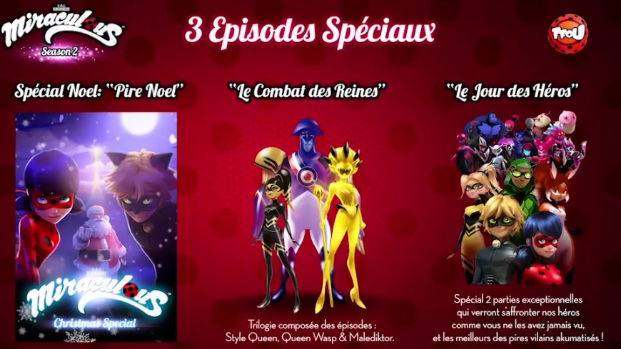 Miraculous Ladybug 2017 new specials