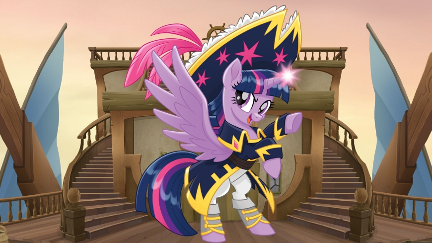 My Little Pony The Movie wallpaper pirate Twilight Sparkle