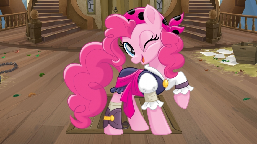 My Little Pony The Movie wallpaper pirate Pinkie Pie
