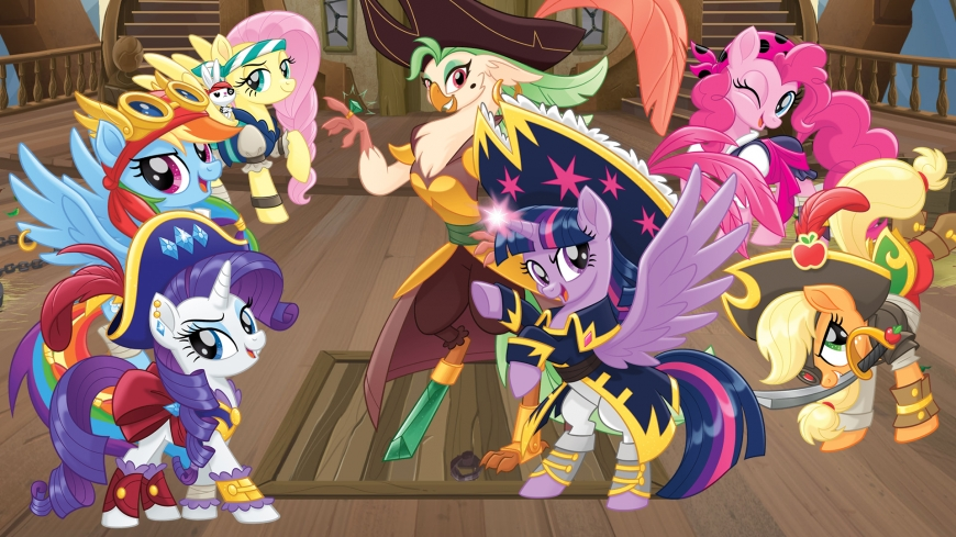 My Little Pony The Movie wallpaper pirates