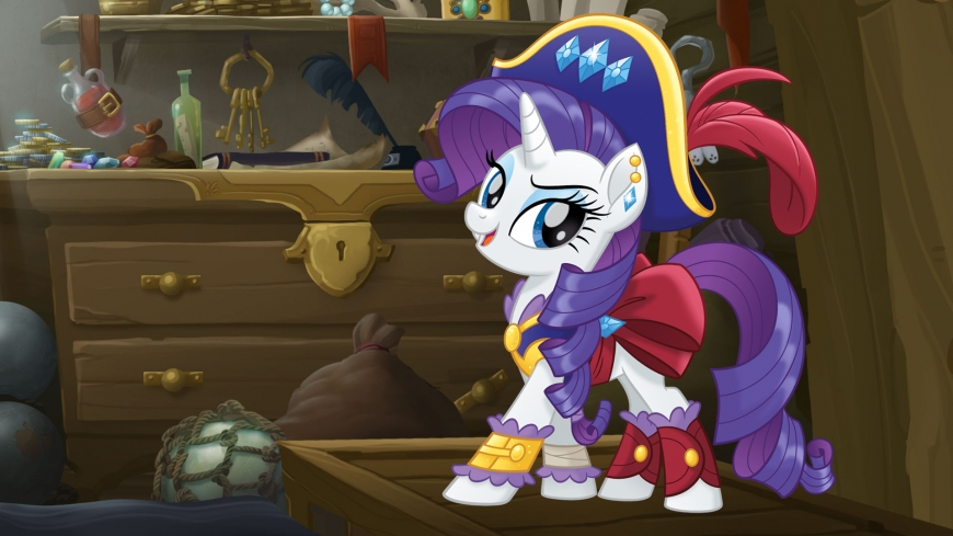 My Little Pony The Movie wallpaper pirate Rarity