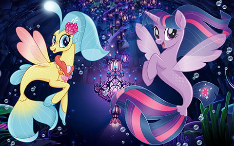 My Little Pony The Movie seaponies - mermaids wallpapers
