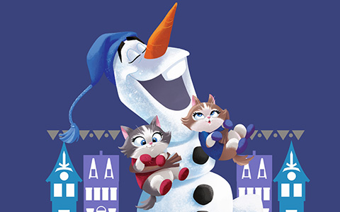 Olaf's Frozen Adventure new wallpapers for winter Holidays