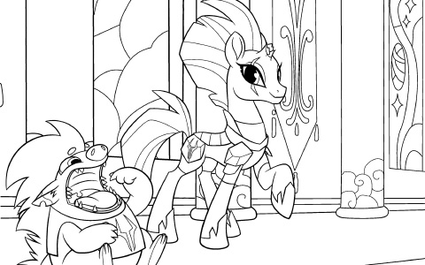 My Little Pony: The Movie coloring pages
