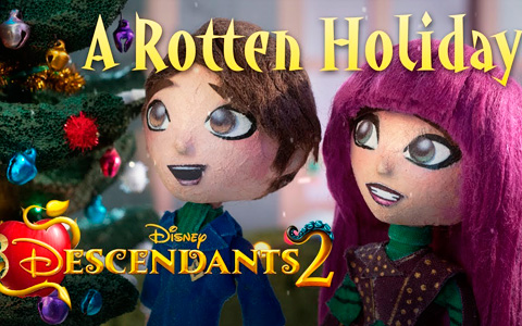 Disney Descendants 2 Stop Motion Special: A Rotten Holiday