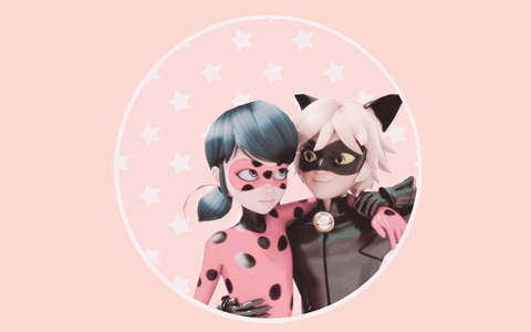 Miraculous Ladybug: Cute pastel phone wallpapers