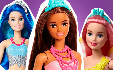 New Barbie Dreamtopia Dolls 2018