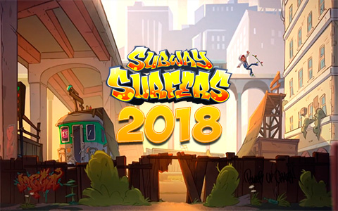 The animated series baced on the game Subway Surfers will be released in 2018