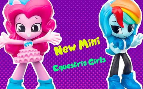New My Little Pony Mini 3-inch Equestria Girls Minis Vinyl Figures