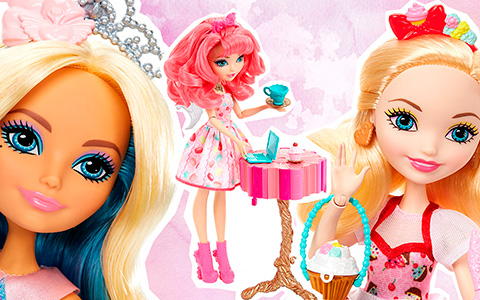 New Ever After High dolls 2018 - cute sweets baking collection