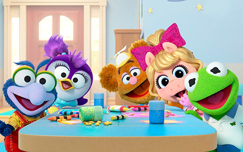 First look at Muppet Babies and new one - Summer the Penguin