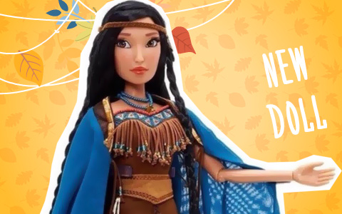 New Limited Edition Pocahontas doll from Disney releasing March 6th