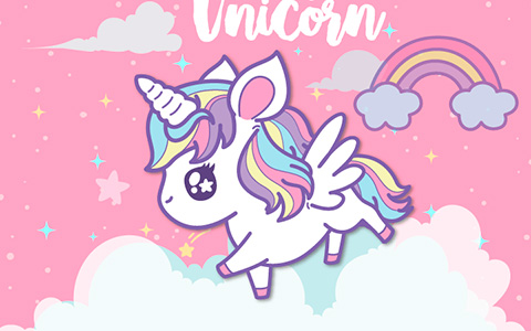 Cute unicorn phone wallpapers