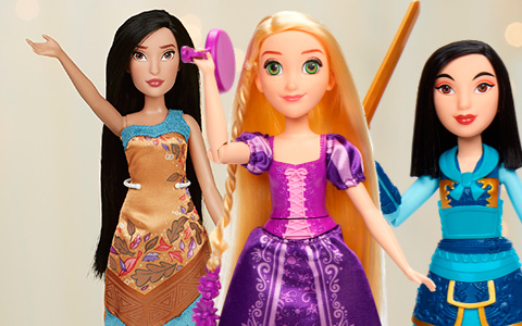 New 2018 Disney Princess dolls from Hasbro