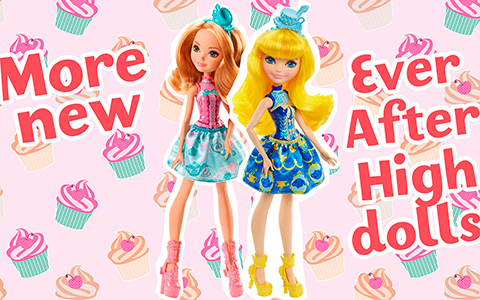 More new Ever After High dolls in 2018 - Tea Party Princess budget dolls