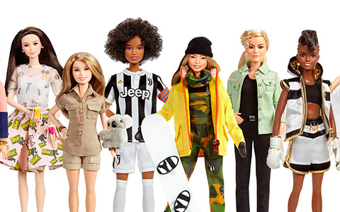 Barbie celebrates Global Role Models for International Women's Day with 17 new dolls