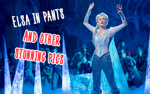 New photos from Frozen: The Broadway Musical