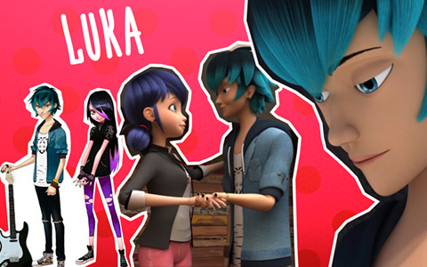 Luka Couffaine - new character from Miraculous Ladybug season 2: cool facts and pictures