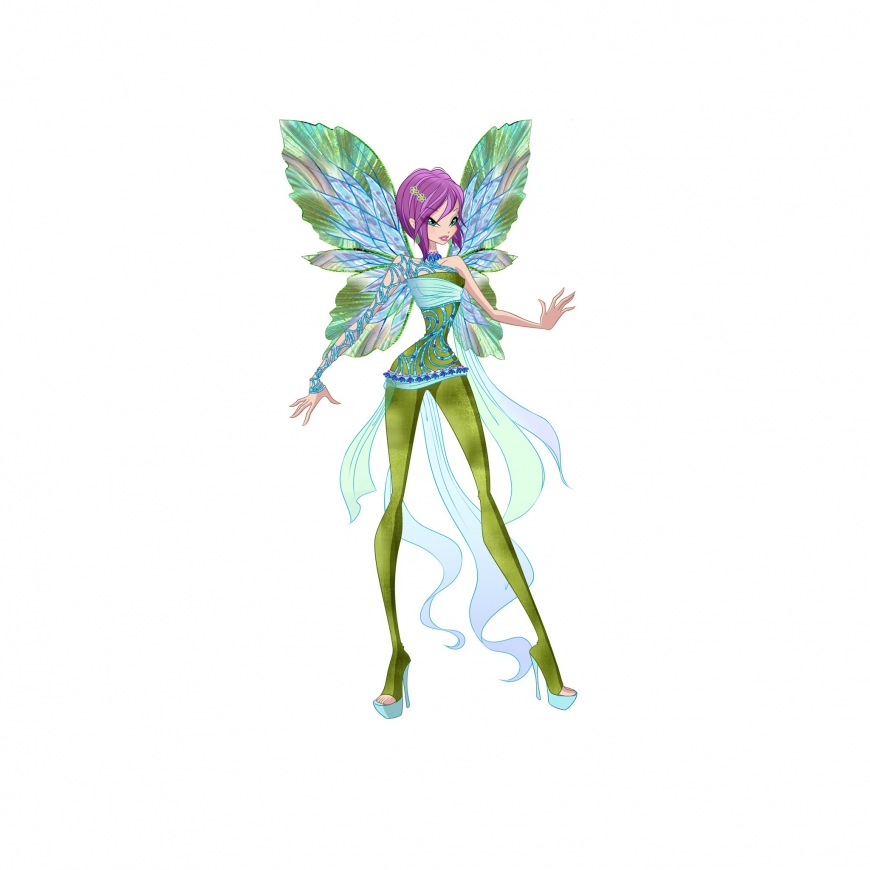 World of Winx picture of Tecna Dreamix transformation