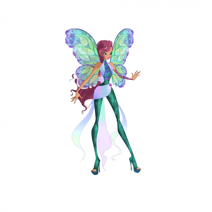 World of Winx picture of Layla Dreamix transformation