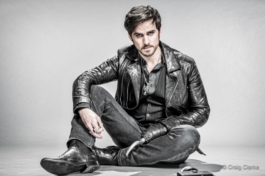 New stunning photo portraits of Once Upon a Time characters
