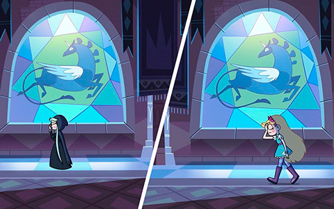 Parallels between the begging and final of season 3 Star vs. the Forces of Evil - Star and Moon