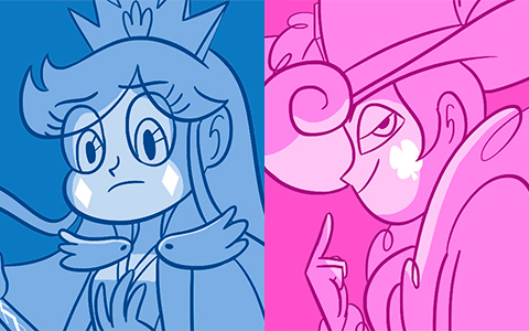 12 Queens of Mewni in cool gifs
