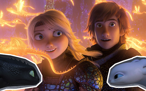 How to Train your Dragon 3: The Hidden World first official pictures