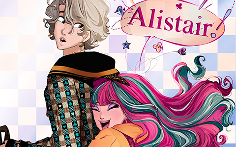 Topsy Turvy Wonderland - amazing fan made comics about Ever After High Wonderland Characters