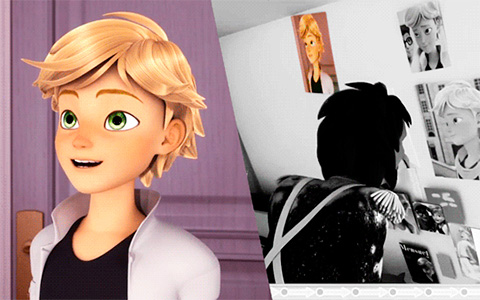 Miraculous Ladybug Troublemaker: Where Adrien's photos comes from