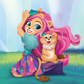 New Enchantimals in cute official art - YouLoveIt.com