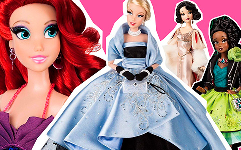 All Disney Princess dolls from Disney Designer Collection Premiere Series
