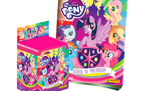 MY LITTLE PONY 'School of Friendship'  new Panini Sticker Collection