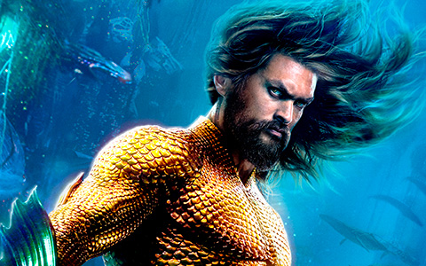 New Aquaman 2018 big HD posters