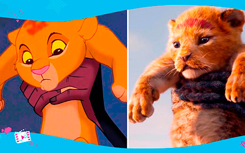 The Lion King 1994 VS 2019 movie