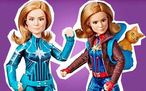 New Captain Marvel dolls and toys