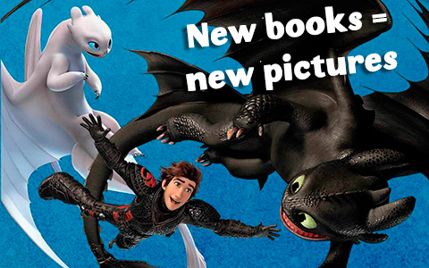 New books and new pictures for How to Train Your Dragon fans with The Hidden World new pictures