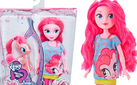 Fist photos of Pinkie Pie Equestria Girls Through the mirror doll